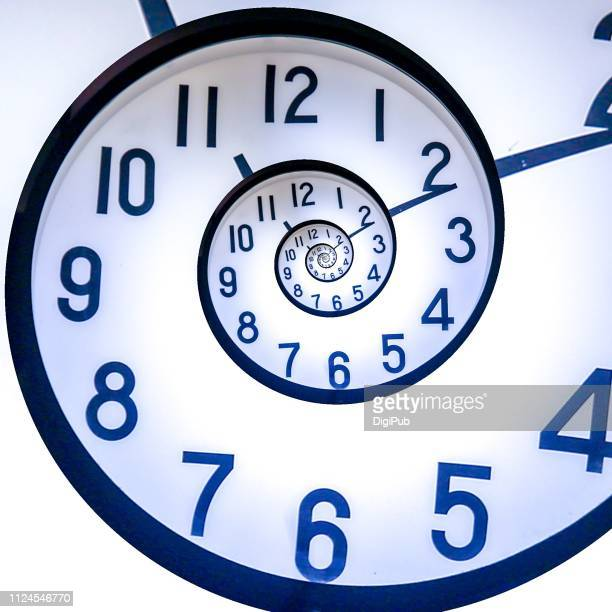 eternal clock - repetition stock pictures, royalty-free photos & images