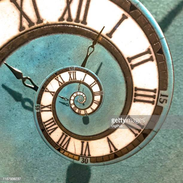 eternal enamel paint clock face - 歴史 ストックフォトと画像