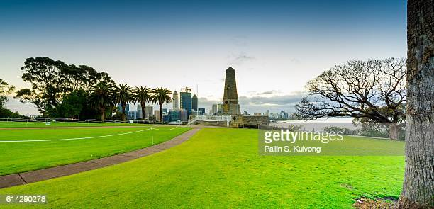 Eternal flame and State memorial, Perth, Western Australia, Australia