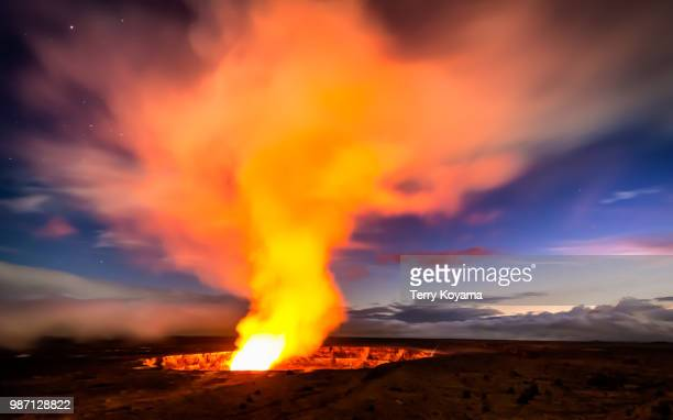 eternal flame - erupting stock pictures, royalty-free photos & images