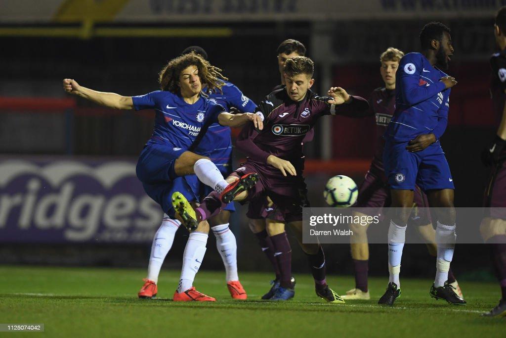 GBR: Chelsea v Swansea City: Premier League 2