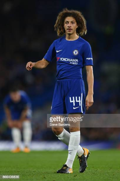 Ethan Ampadu of Chelsea during the Carabao Cup Fourth Round match between Chelsea and Everton at Stamford Bridge on October 25 2017 in London England