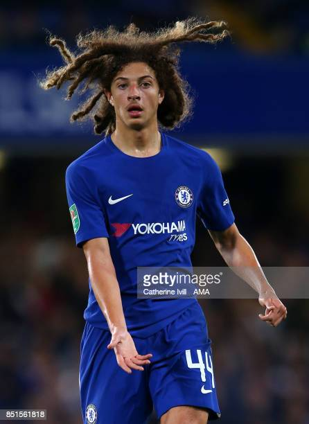 Ethan Ampadu of Chelsea during the Carabao Cup Third Round match between Chelsea and Nottingham Forest at Stamford Bridge on September 20 2017 in...