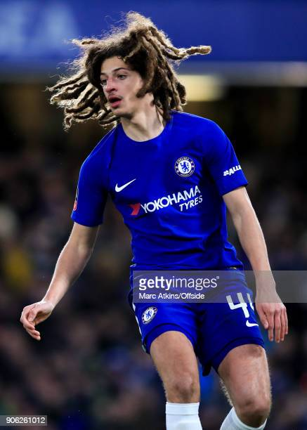 Ethan Ampadu of Chelsea during the Emirates FA Cup Third Round Replay match between Chelsea and Norwich City at Stamford Bridge on January 17 2018 in...