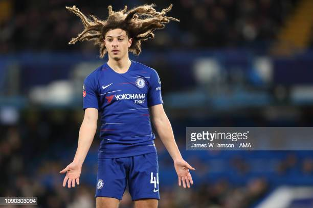 Ethan Ampadu of Chelsea during the FA Cup Fourth Round match between Chelsea and Sheffield Wednesday at Stamford Bridge on January 27 2019 in London...