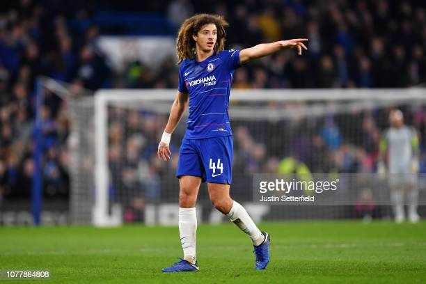 Ethan Ampadu of Chelsea during the FA Cup Third Round match between Chelsea and Nottingham Forest at Stamford Bridge on January 5 2019 in London...