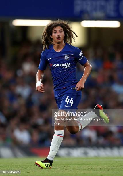Ethan Ampadu of Chelsea during the International Champions Cup 2018 match between Chelsea and Olympique Lyonnais at Stamford Bridge on August 7 2018...