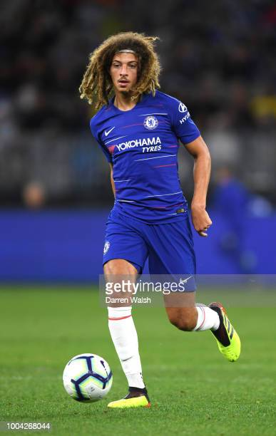 Ethan Ampadu of Chelsea during the international friendly between Chelsea FC and Perth Glory at Optus Stadium on July 23 2018 in Perth Australia