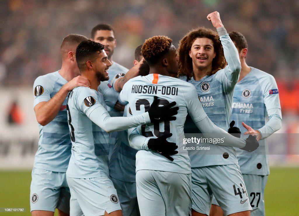 Vidi FC v Chelsea FC - UEFA Europa League - Group L : News Photo