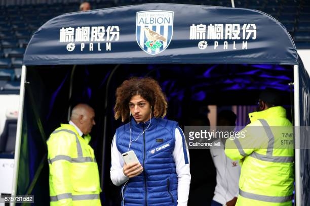 Ethan Ampadu of Chelsea prior to the Premier League match between West Bromwich Albion and Chelsea at The Hawthorns on November 18 2017 in West...