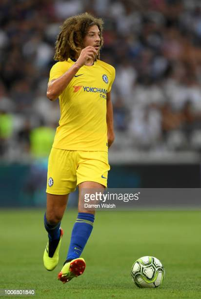 Ethan Ampadu of Chelsea runs with the ball during the International Champions Cup 2018 match between Chelsea and FC Internazionale at Allianz Riviera...