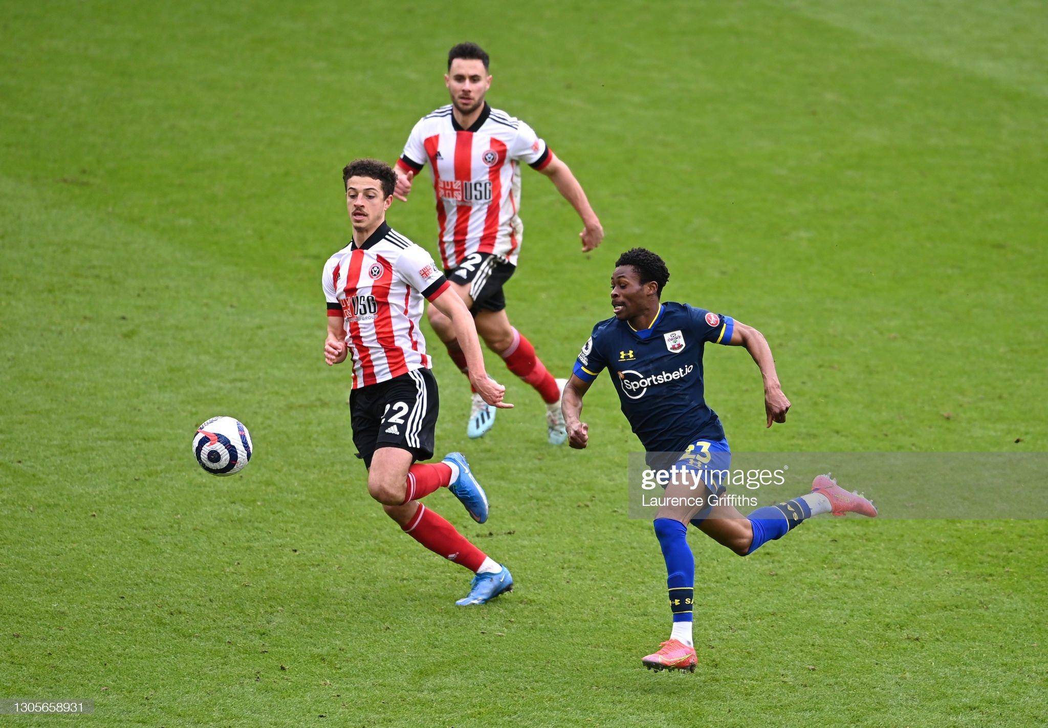 Sheffield United v Southampton - Premier League : ニュース写真