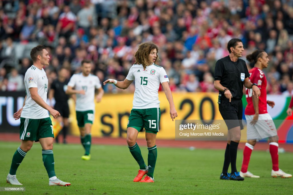 Denmark v Wales - UEFA Nations League B : News Photo