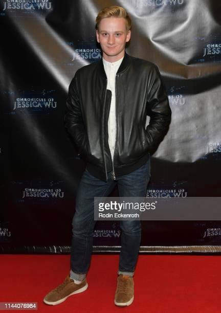 Ethan B Paisley attends the Chronicles of Jessica Wu Season 2 premiere at SAGAFTRA Foundation Screening Room on April 20 2019 in Los Angeles...