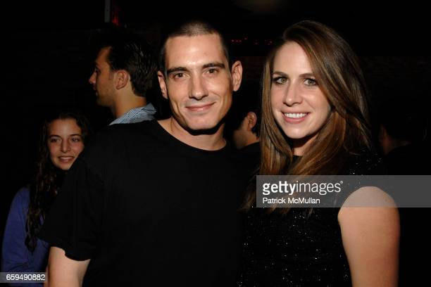 Ethan Brown and Nikki Beal attend Noel Ashman's Q Lounge Opening at Q Lounge on October 19 2009 in New York