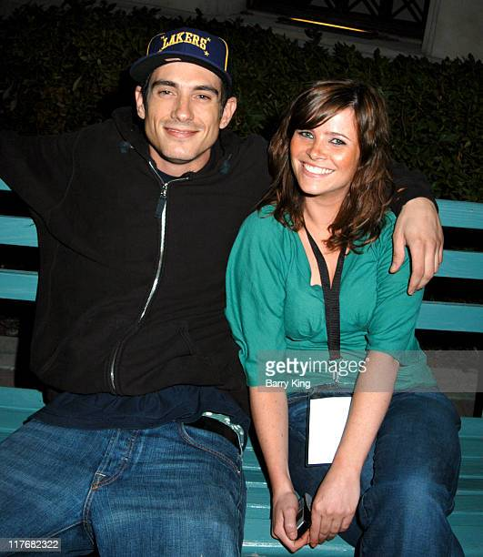 Ethan Browne and guest during Surfrider Foundation 20th Anniversary Celebration Inside at Sony Pictures Studios in Culver City California United...