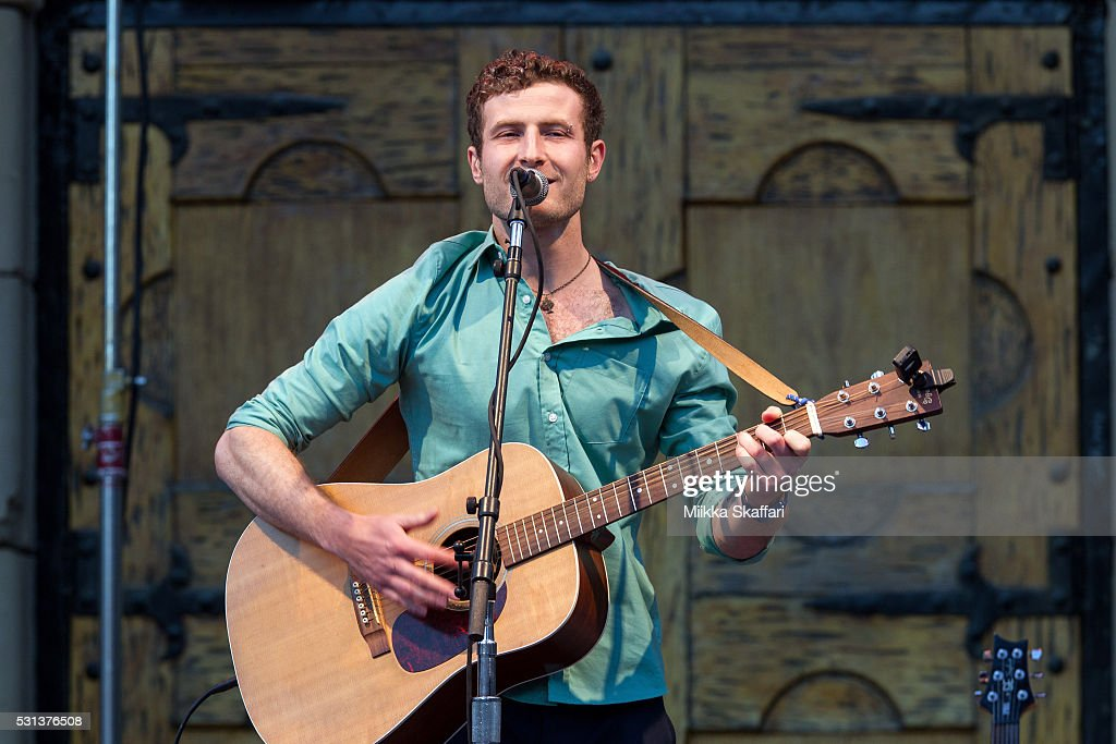 Ethan Buckner aka The Minnesota Child performs at The Mountain Winery on May 13, 2016 in Saratoga, California.