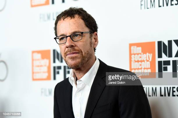 Ethan Coen attends the Netflix's The Ballad of Buster Scruggs NYFF Red Carpet Premiere at Alice Tully Hall on October 4 2018 in New York City