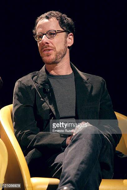 Ethan Coen during Viaggio Nel Cinema Americano Press Conference Featuring the Coen Brothers and Frances McDormand November 24 2005 at Auditorium of...