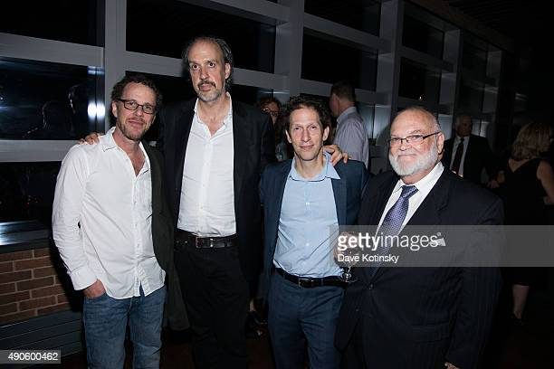 Ethan Coen Kent Jones Joel Coen and JR Horn attend the 53rd New York Film Festival 'O Brother Where Art Thou' 15th anniversary screening after party...