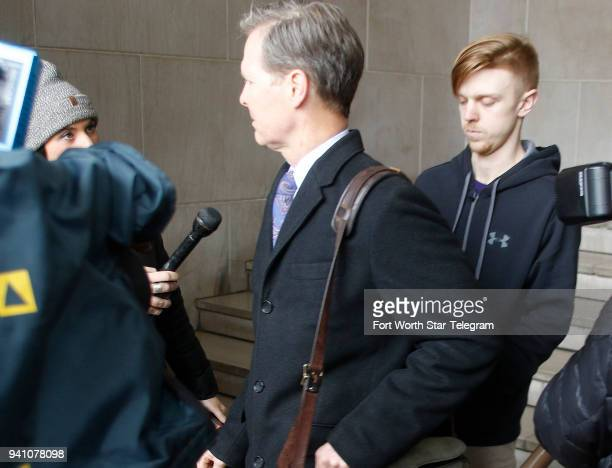 Ethan Couch is released from the Tarrant County Corrections Department on Monday April 2 2018