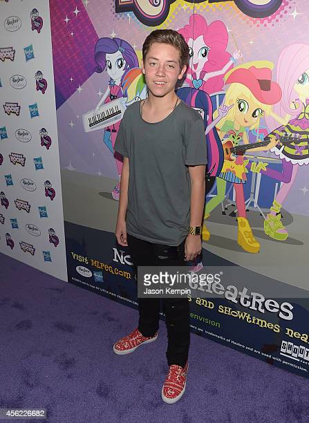 Ethan Cutkosky attends the premiere of My Little Pony Equestria Girls Rainbow Rocks at TCL Chinese Theatre on September 27 2014 in Hollywood...