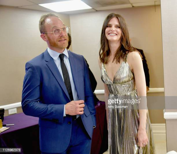 Ethan Embry and Lindsey Kraft attend The 21st CDGA at The Beverly Hilton Hotel on February 19 2019 in Beverly Hills California