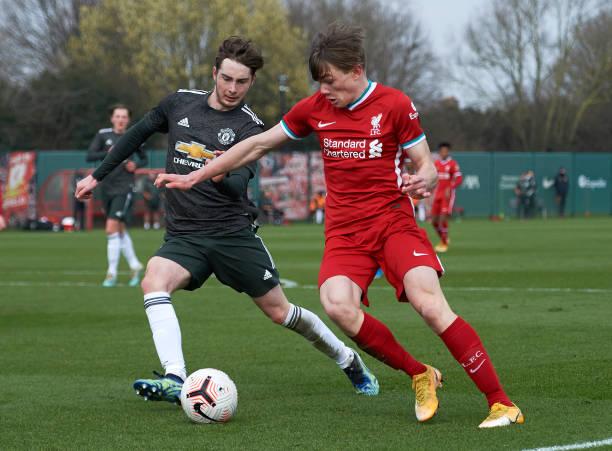GBR: Liverpool v Manchester United - U18 Premier League