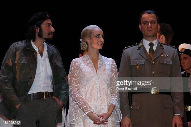 """Ethan Freeman , Anna Maria Kaufmann , Wolfgang Hoetzel , , """"Musical-Theater"""", Bremen, , Musical: """"Evita"""", A n d r e w L l o y d W e b b e r,..."""