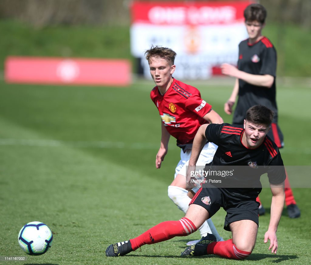 Manchester United v Sunderland: U18 Premier League : News Photo