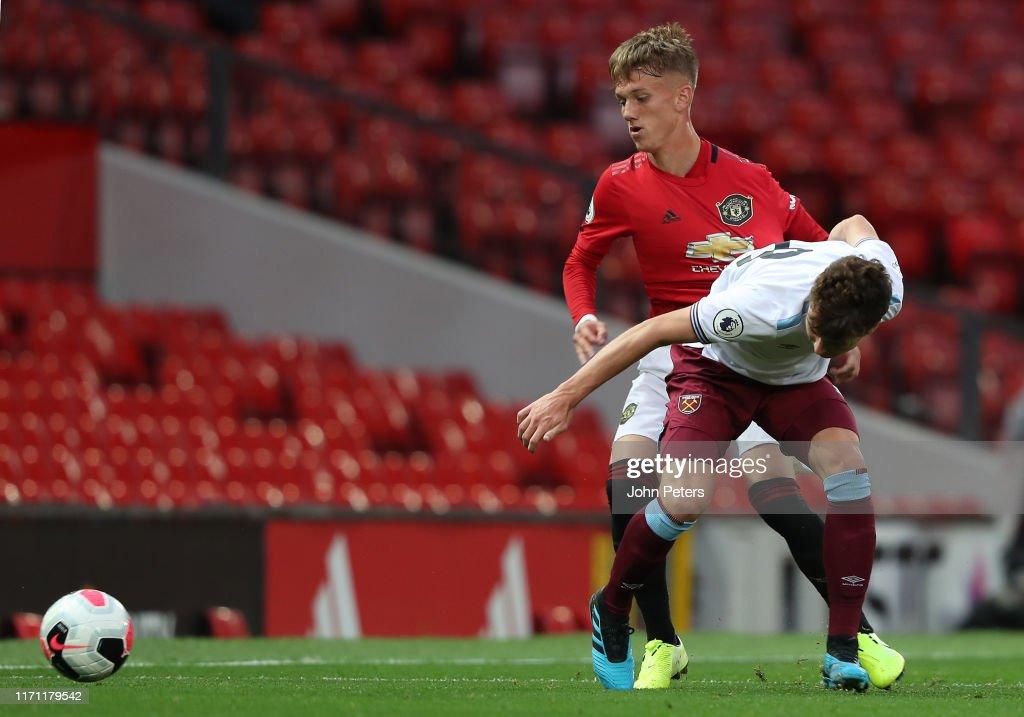 Manchester United v West Ham United - Premier League 2 : News Photo