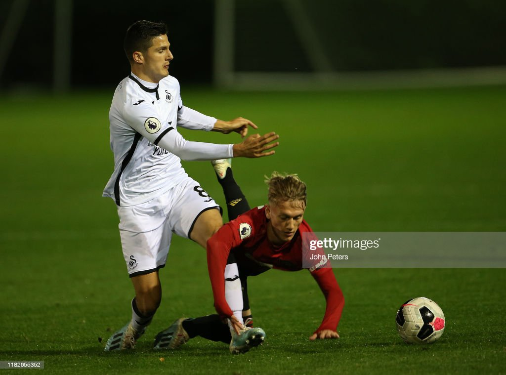 Swansea City v Manchester United - Premier League 2 : News Photo