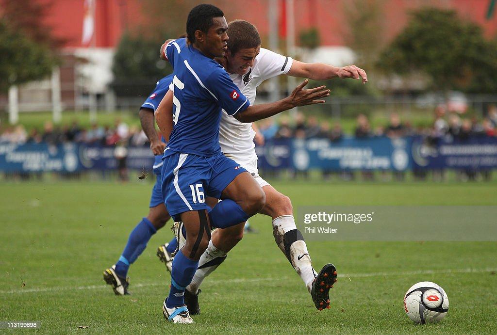 Oceania U20 Tournament Semi Final - New Zealand v Fiji : News Photo