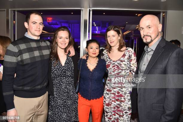 Ethan Groveman Jessica Thompson Dong Mie Genevieve Adams and Bruce Ancona attend NYU Langone's Playing for Pediatrics Winter Game Night at The...