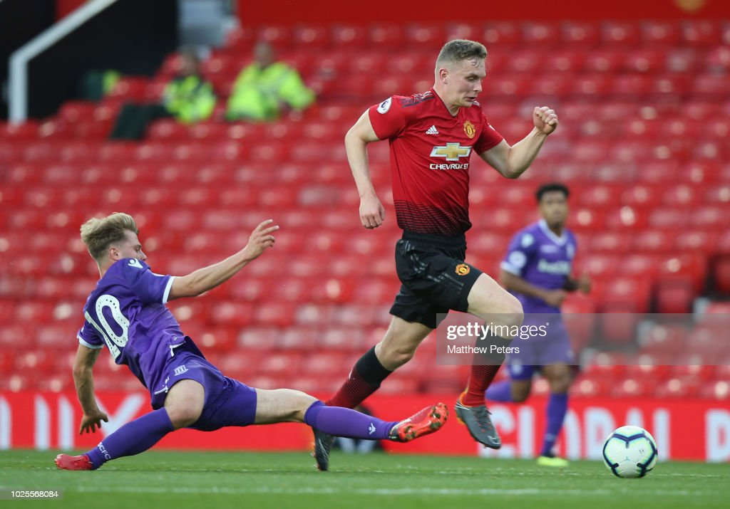 Manchester United v Stoke City: Premier League 2 : News Photo