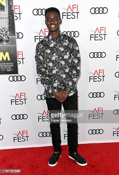 """Ethan Harris attends the """"Queen & Slim"""" Premiere at AFI FEST 2019 presented by Audi at the TCL Chinese Theatre on November 14, 2019 in Hollywood,..."""