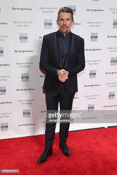 Ethan Hawke attends IFP's 26th Annual Gotham Independent Film Awards at Cipriani Wall Street on November 28 2016 in New York City