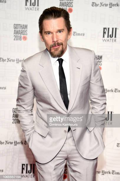 Ethan Hawke attends IFP's 28th Annual Gotham Independent Film Awards at Cipriani Wall Street on November 26 2018 in New York City
