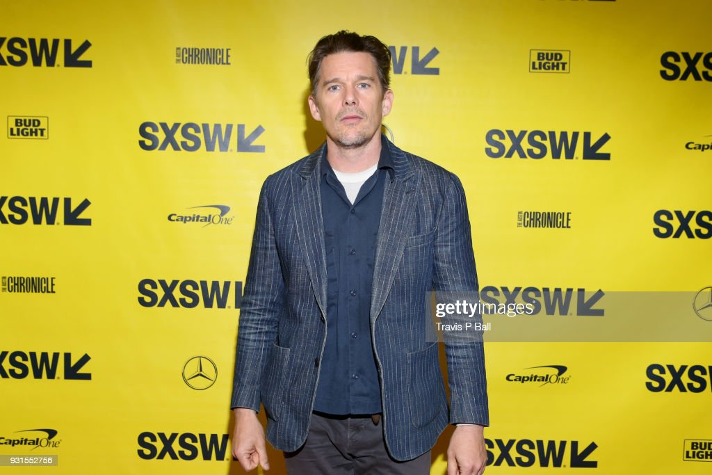 Ethan Hawke attends SXSW at Austin Convention Center on March 13, 2018 in Austin, Texas.