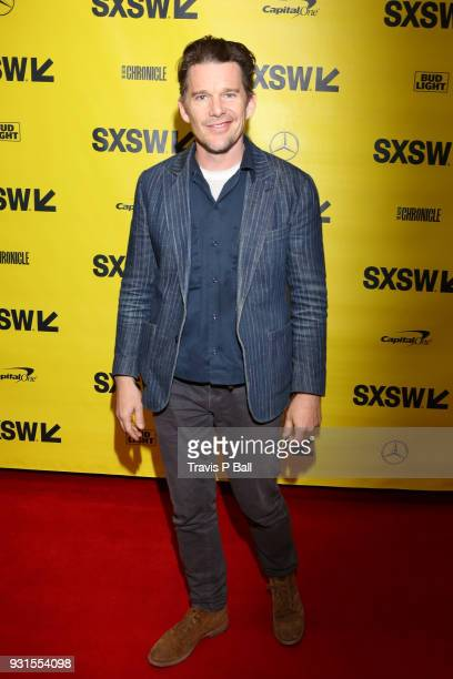 Ethan Hawke attends SXSW at Austin Convention Center on March 13 2018 in Austin Texas