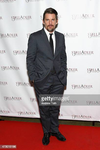 Ethan Hawke attends the 10th Annual Stella By Starlight Benefit Gala at Prince George Ballroom on May 11 2015 in New York City