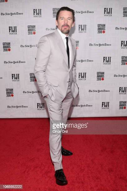 Ethan Hawke attends the 2018 IFP Gotham Awards with FIJI Water at Cipriani Wall Street on November 26 2018 in New York City