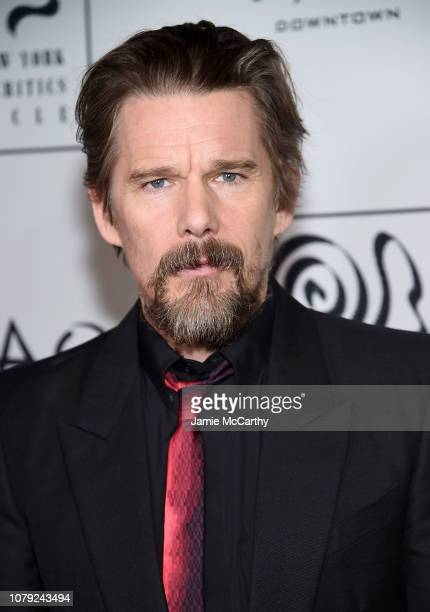 Ethan Hawke attends the 2018 New York Film Critics Circle Awards at TAO Downtown on January 7 2019 in New York City