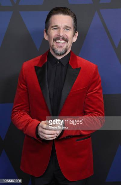 Ethan Hawke attends the Academy of Motion Picture Arts and Sciences' 10th annual Governors Awards at The Ray Dolby Ballroom at Hollywood Highland...