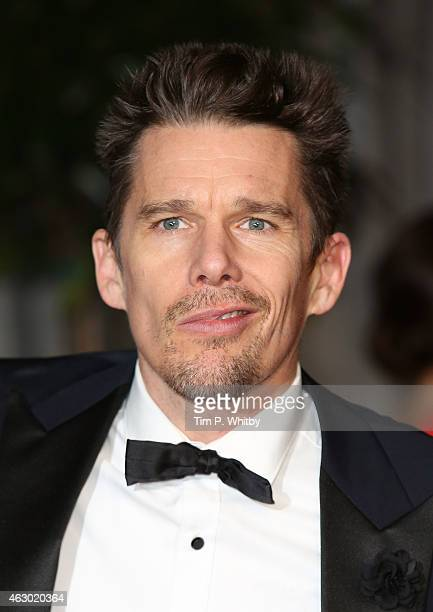 Ethan Hawke attends the after party for the EE British Academy Film Awards at The Grosvenor House Hotel on February 8 2015 in London England