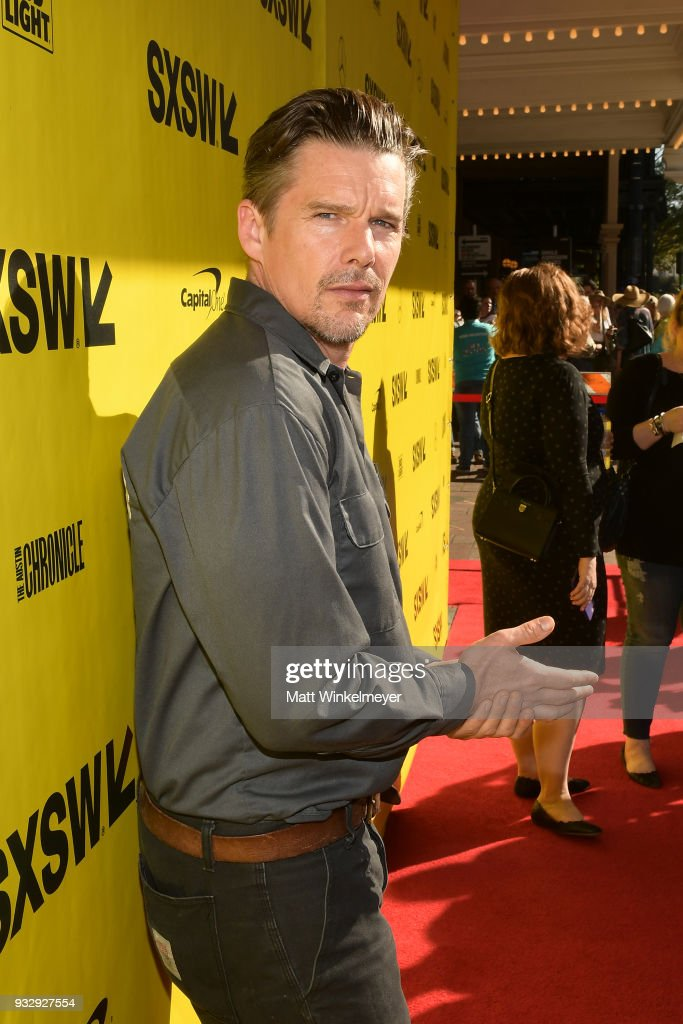 Ethan Hawke attends the 'Blaze' Prmeiere 2018 SXSW Conference and Festivals at Paramount Theatre on March 16, 2018 in Austin, Texas.