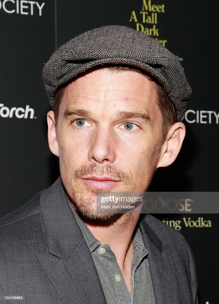Ethan Hawke attends the Cinema Society and BlackBerry Torch screening of 'You Will Meet a Tall Dark Stranger' at MOMA on September 14, 2010 in New York City.