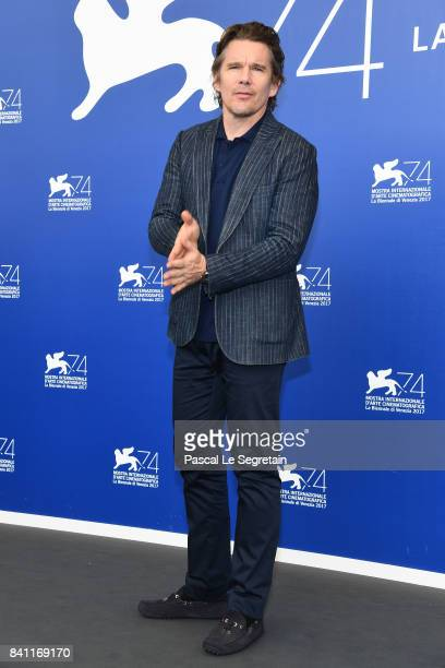 Ethan Hawke attends the 'First Reformed' photocall during the 74th Venice Film Festival at Sala Casino on August 31 2017 in Venice Italy