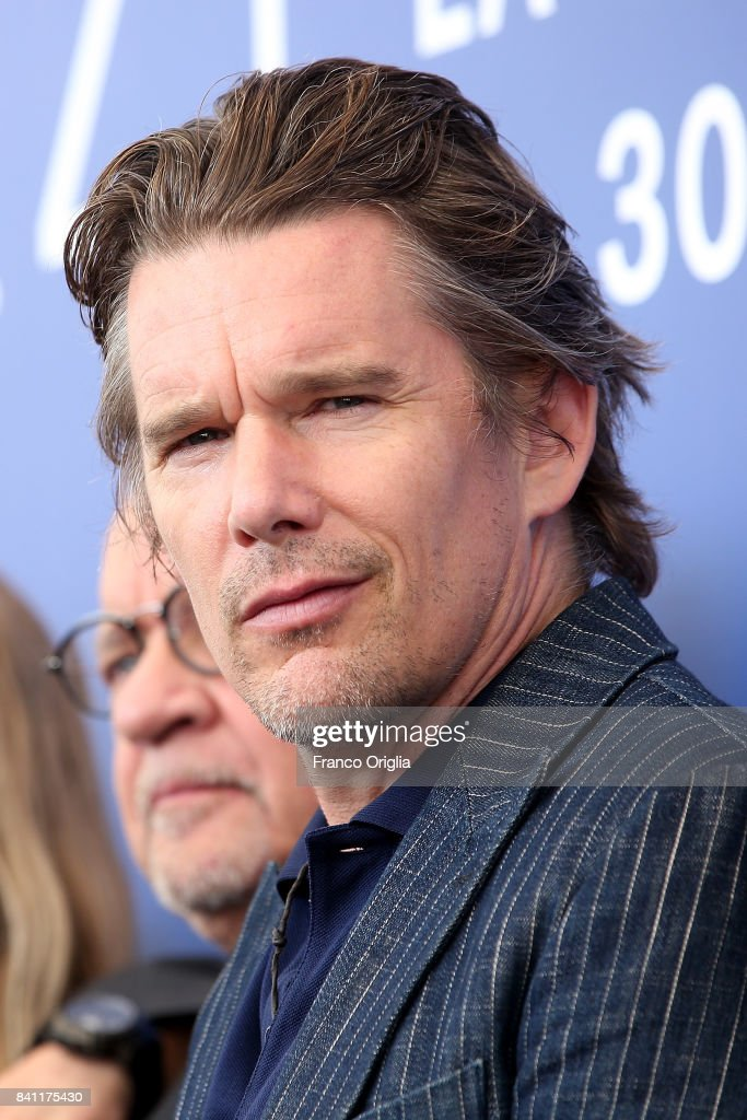 Ethan Hawke attends the 'First Reformed' photocall during the 74th Venice Film Festival at Sala Casino on August 31, 2017 in Venice, Italy.