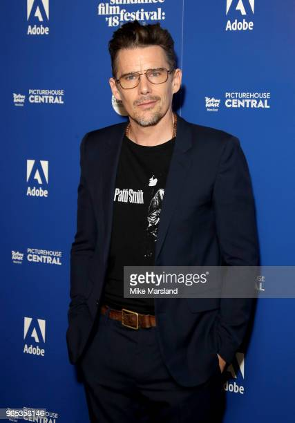 Ethan Hawke attends the 'First Reformed' screening part of the Sundance Film Festival at Picturehouse Central on June 1 2018 in London England
